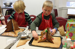 Baking is an artform at Sudbury Valley School.